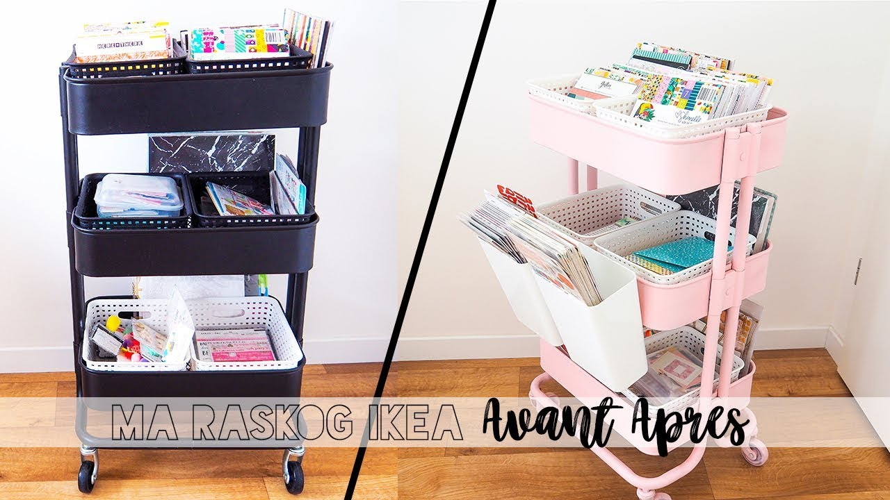 ma desserte raskog ikea avant apres youtube. Black Bedroom Furniture Sets. Home Design Ideas