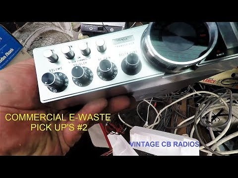 Picking up E Waste Commercially #2
