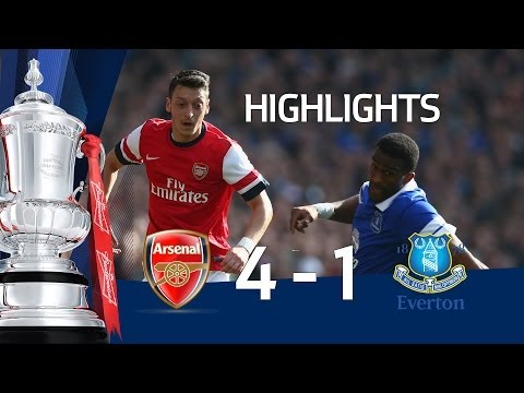 ARSENAL VS EVERTON 4-1: Official goals and highlights FA Cup Sixth Round HD