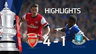 Video Gol Pertandingan Arsenal vs Everton