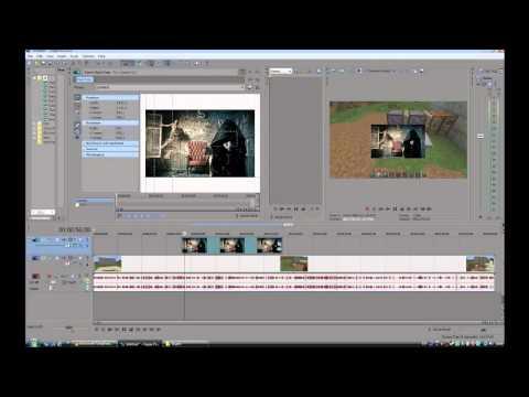 Видео урок Sony Vegas Pro 11 #1 Как вставлять картинки
