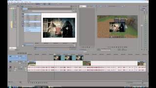 Видео урок Sony Vegas Pro 11 #1 Как вставлять картинки(Мой второй видео урок по программе