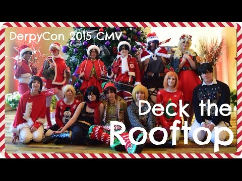 Attack on Titan - Deck the Rooftop (Christmas CMV)