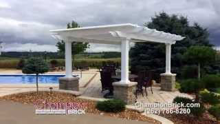 Pergola - Champion Brick in Milwaukee