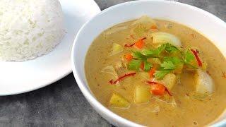 Thai Massaman Curry  - Vegan Vegetarian Recipe