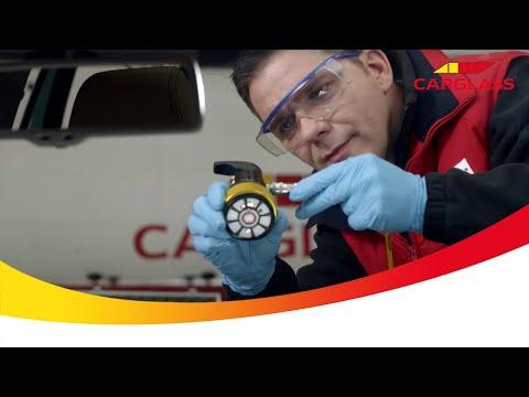 Autoruit reparatie / Sterretje in voorruit repareren met HPX4® bij Carglass®