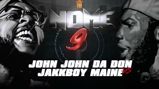 JOHN JOHN DA DON VS JAKK BOY MAINE RAP BATTLE | URLTV