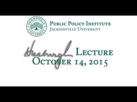 Hesburgh Lecture | JU Pulic Policy Institute| Jacksonville Event Videography| Drawn In Media