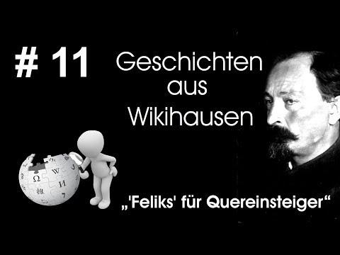 Wikipedia-Heckenschütze Feliks - Zusammenfassung für Quereinsteiger | #11 Wikihausen