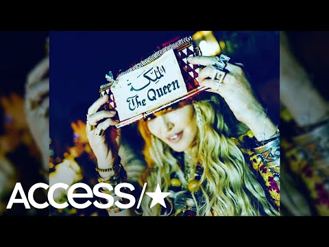 Madonna's 60th Birthday Bash In Morocco Was Epic & Stunning! | Access