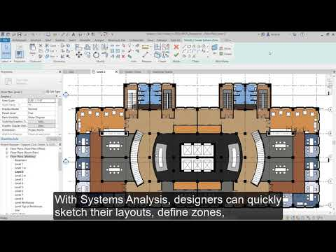 Revit 2020.1:  MEP Systems Analysis Features And Framework