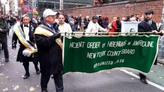 Archbishop John Hughes Memorial Dedication Procession - AOH Cathedral Defense Re-enactment