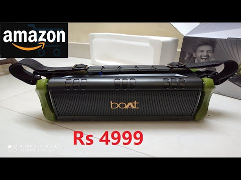 BOAT STONE 1400 | UNBOXING & REVIEW | Best Sound Quality | Best Bluetooth Speaker Under Rs 5000