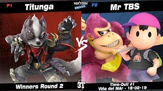 TO1 - Titunga (Wolf) vs NGS | Mr TBS (Ness, Donkey Kong) - WR2