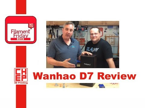 Wanhao Duplicator 7 DLP 3D Printer and Monocure Resin Review