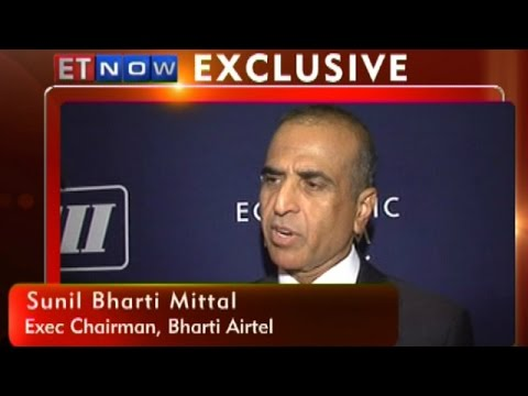 Bharti Airtel's Sunil Mittal To ET NOW From World Economic Forum