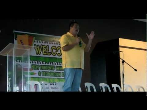 VICE MAYOR MEL GECOLEA INSPIRES NEW STUDENTS OF PAMANTASAN NG CABUYAO