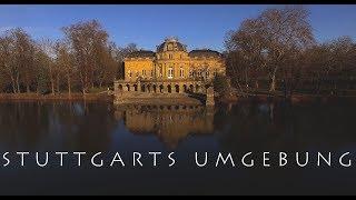 STUTTGARTS UMGEBUNG IN 4K - Ludwigsburg - Esslingen - Tübingen - Herrenberg - Horb am Neckar