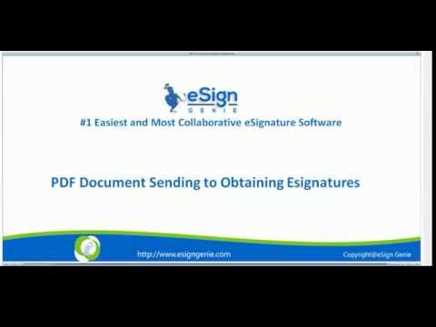 How to easily create and esign a pdf document