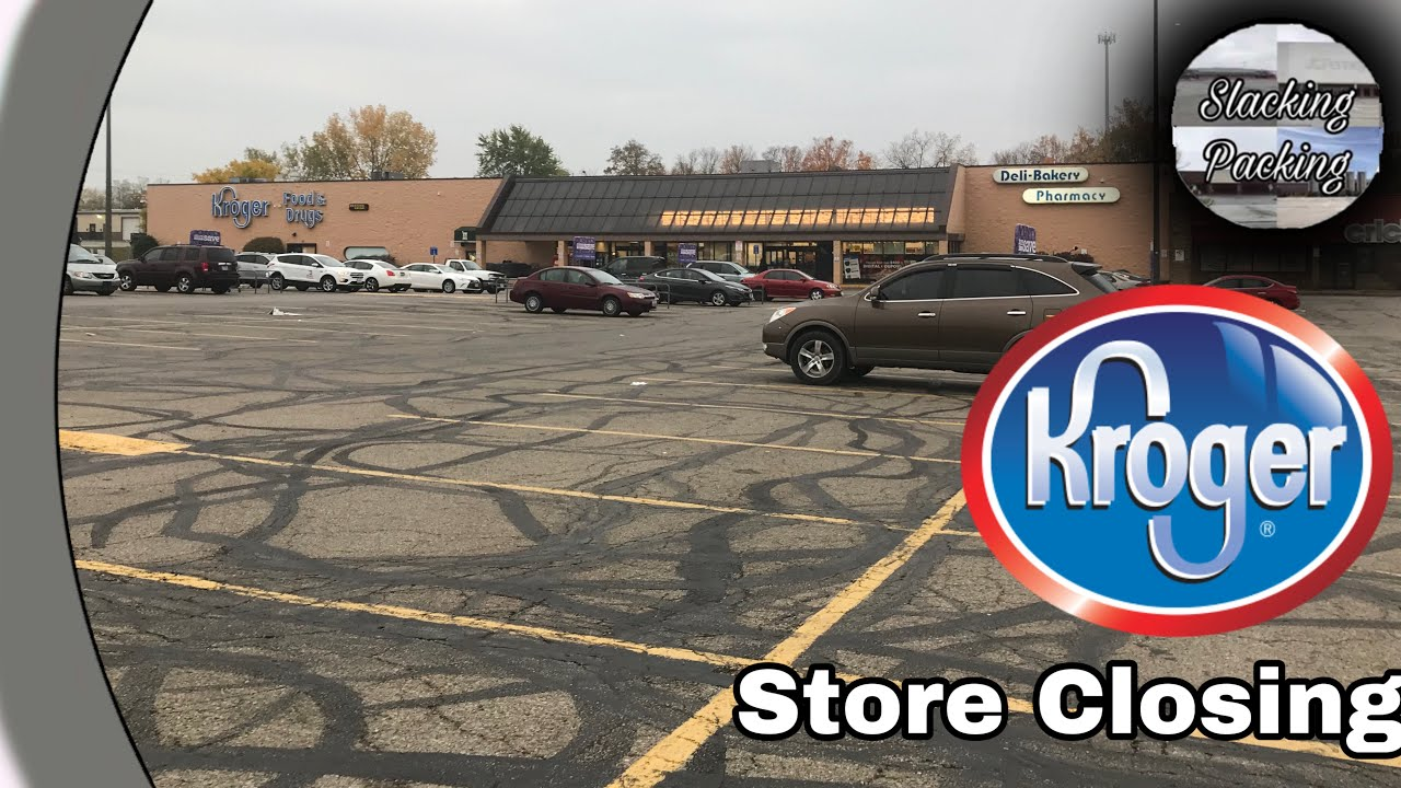 Kroger Marietta Ohio >> Kroger Closing Tour Dayton Ohio Now Closed Youtube