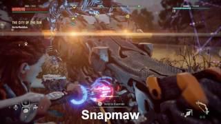 Horizon: Zero Dawn - 7 Types of Machines Overridden (Trophies)