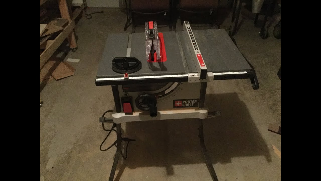 Porter cable table saw review pcx362010 youtube porter cable table saw review pcx362010 greentooth Choice Image