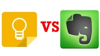 Google Keep VS Evernote .Overview ,detailed review.