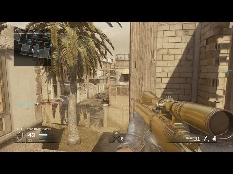 OpTic Pamaj - Modern Warfare Golden R700 REMASTERED Sniper Gameplay
