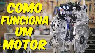Entenda de vez como funciona o motor do carro!