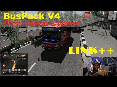 [Free] Review Buspack V4.0 By Agus Cahyono + Link//ETS2 Bus Mod Indonesia