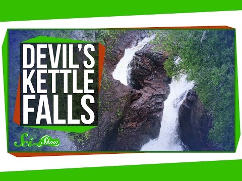 Weird Places: Devil's Kettle Falls