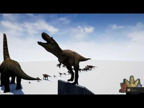 The Isle | Albertosaurus sounds