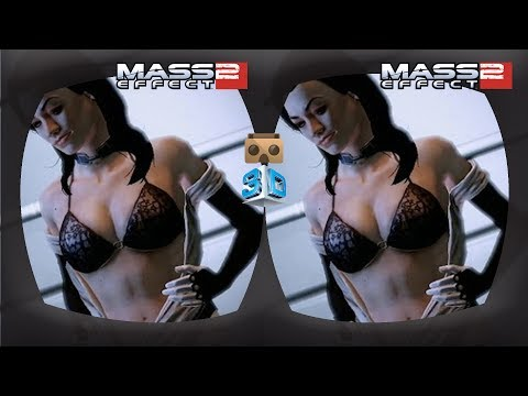 Mass Effect 2 - Prolog - 3D TV - VR Gameplay, Google Cardboard, VR Box
