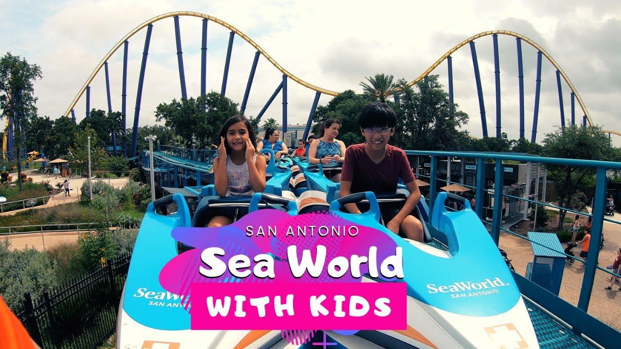 SeaWorld in San Antonio with Kids [ Food vs Travel ]