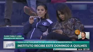 Instituto se prepara para recibir a Quilmes el domingo a las 20hs