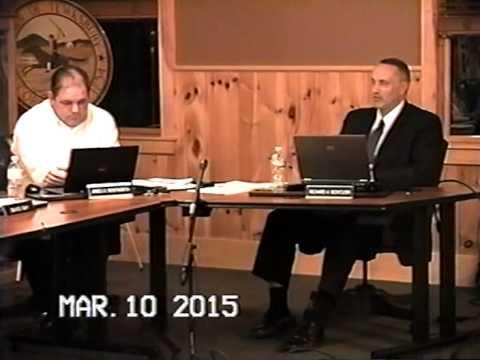 Tewksbury, MA Board of Selectmen Meeting: March 10, 2015: Part 3 of 3