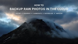 HOW TO Backup RAW Photos in the Cloud screenshot 5