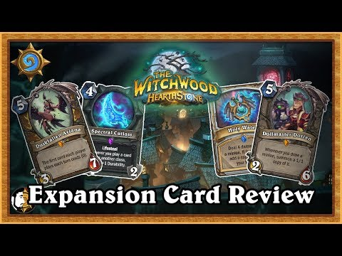 Hearthstone: The Witchwood New Hearthstone Expansion - Card Review (Ep. 4)
