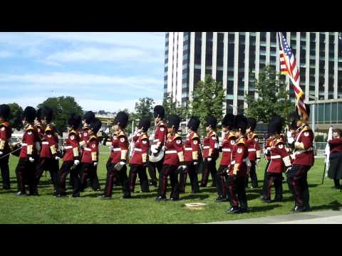 Bangor (Pennsylvania) High School Marching Band at NAFOW 2009