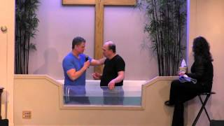 What's Up With This Adult Baptism Idea?