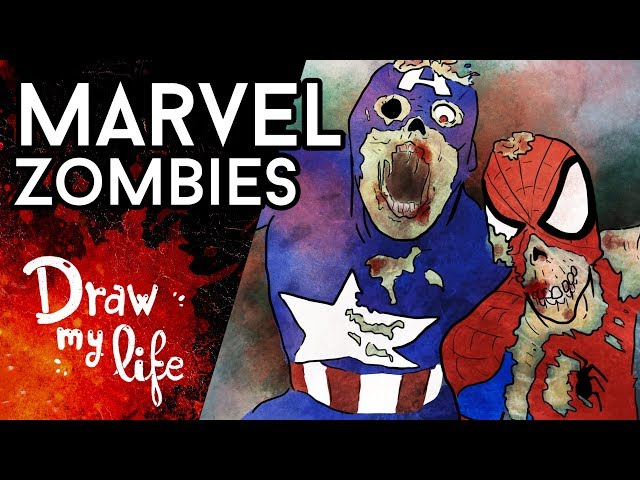 Los héroes de MARVEL... ¡ZOMBIES! - Draw Club