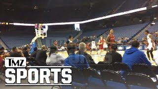 LiAngelo Ball Spends NBA Draft at LaVar's JBA League Opener | TMZ Sports