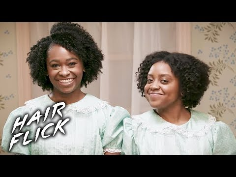 """Twist Out Hair Tutorial In The Style Of """"The Shining"""" • Hair Flick"""