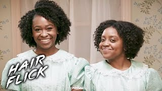 "Twist Out Hair Tutorial In The Style Of ""The Shining"" • Hair Flick"