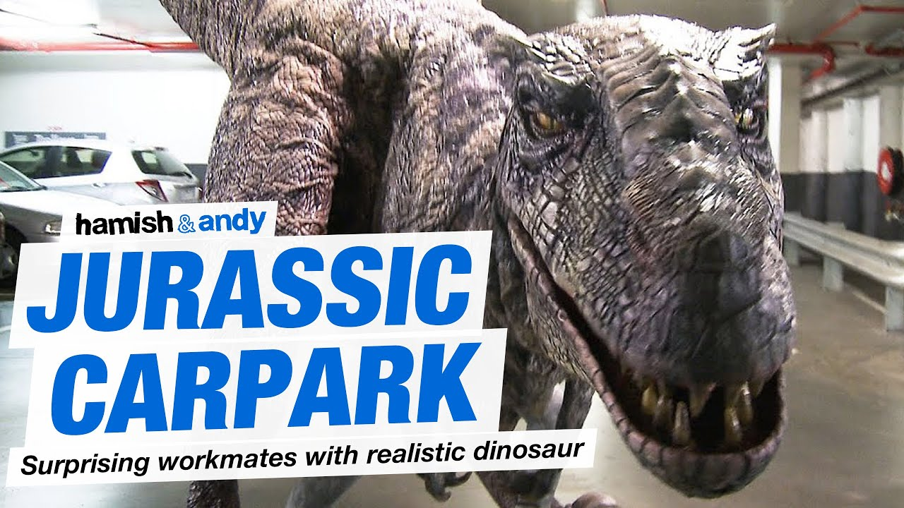 Jurassic Carpark Youtube