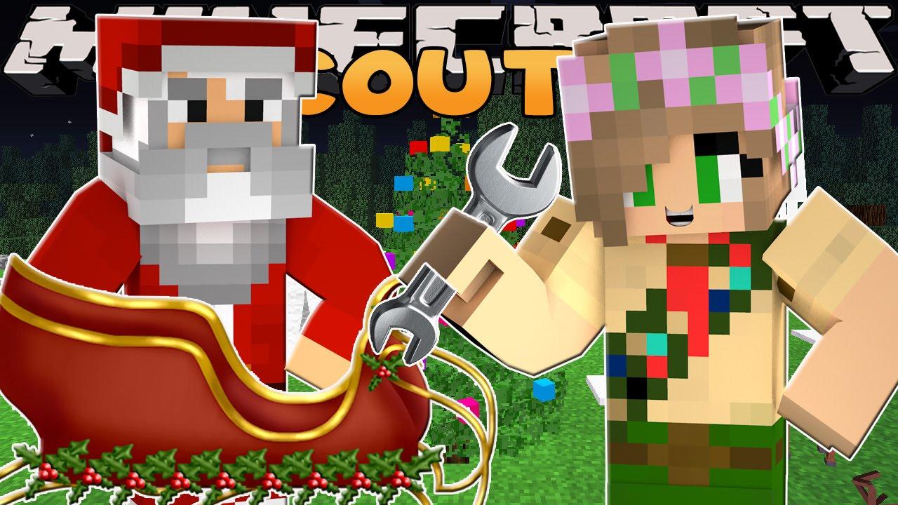 Minecraft School Scouts : SAVING SANTAS SLEIGH ! - YouTube