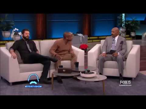 James Roday and Dulé Hill on Steve talking Psych: The Movie