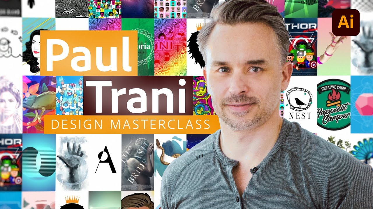 Design Masterclass: Recreating Popular Logos, Part 2