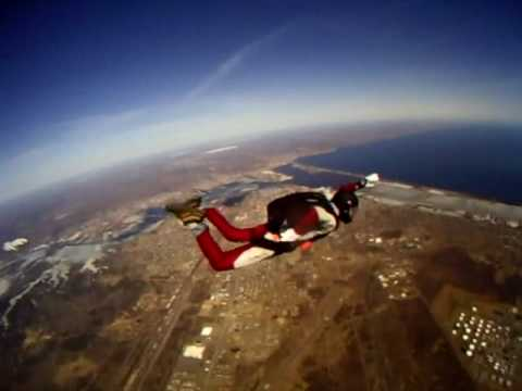 Student Cannot find ripcord, Instructor Deploys Parachute