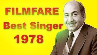 Download lagu Filmfare Award For Best Male Playback Singer In 1978 Mohammad Rafi MP3